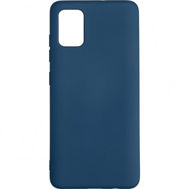 Full Soft Case for Samsung A515 (A51) Blue