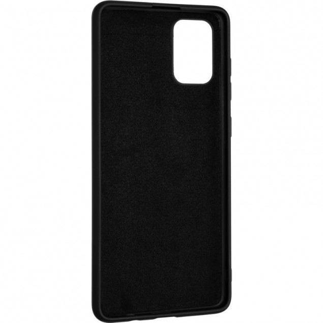Full Soft Case for Samsung A715 (A71) Black