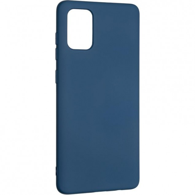 Full Soft Case for Samsung A715 (A71) Blue