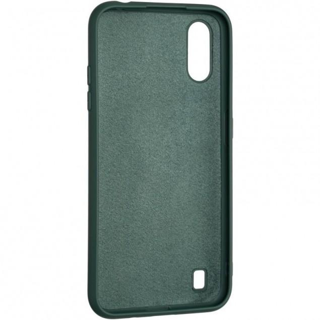 Full Soft Case for Samsung A015 (A01)/M015 (M01) Dark Green