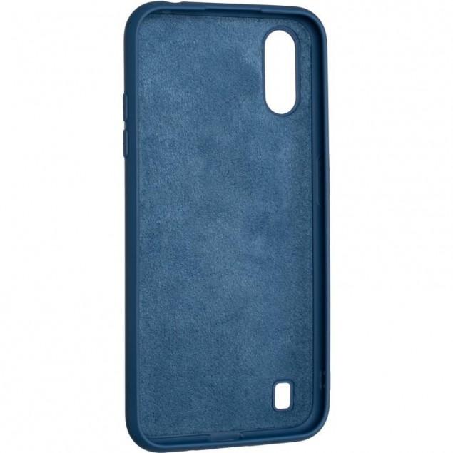 Full Soft Case for Samsung A015 (A01)/M015 (M01) Blue