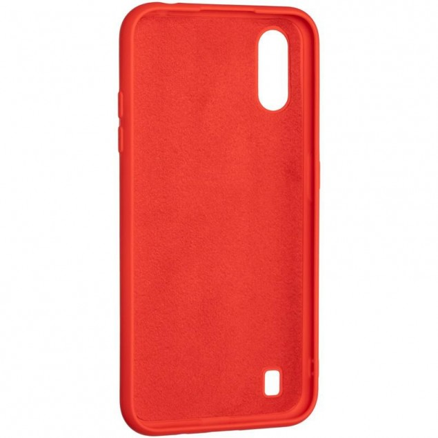 Full Soft Case for Samsung A015 (A01)/M015 (M01) Red
