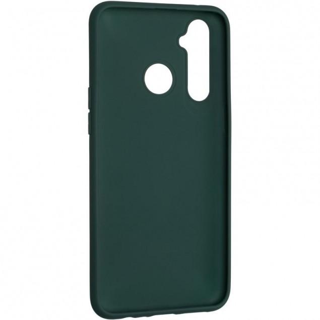 Full Soft Case for Realme 5 Pro Dark Green TPU
