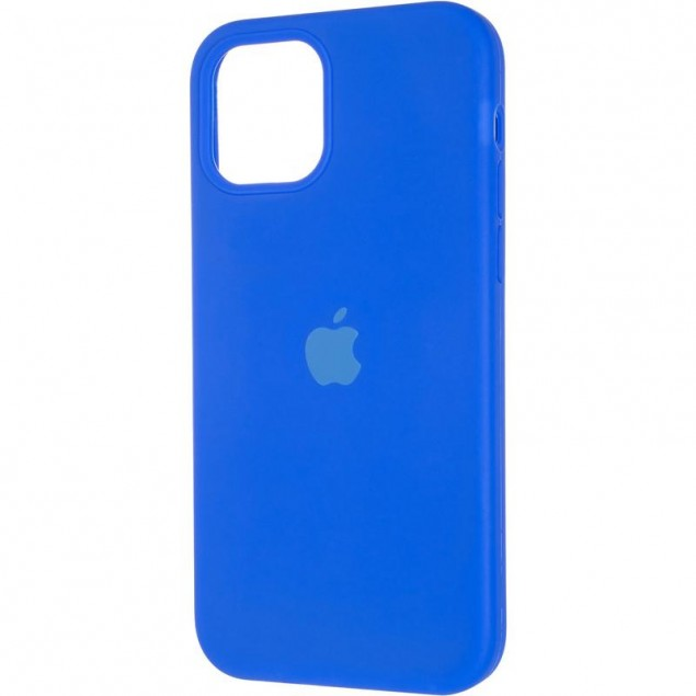 Original Full Soft Case for iPhone 12/12 Pro Sapphire Blue