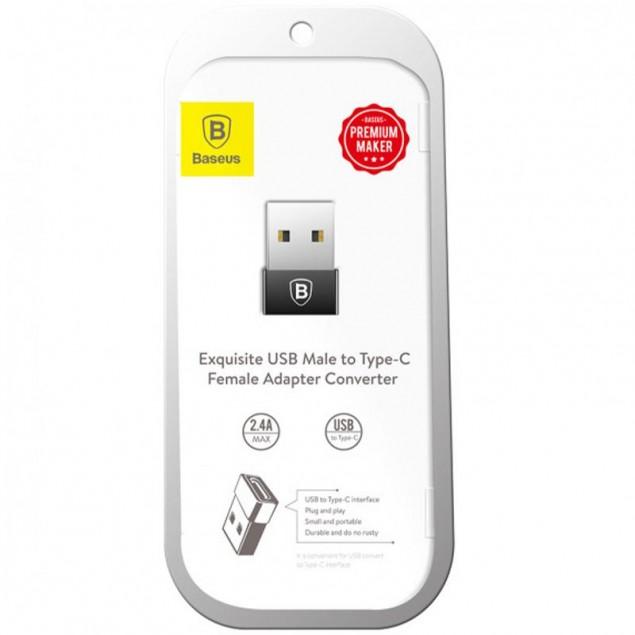 Adapter Baseus Exquisite USB -> Type-C (CATJQ-A01)