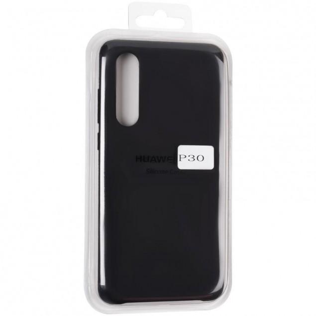 Original 99% Soft Matte Case for Huawei P30 Black