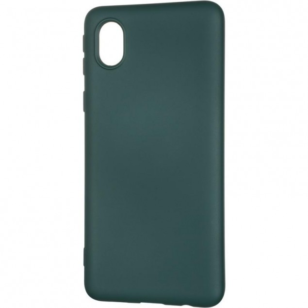Full Soft Case for Samsung A013 (A01 Core) Dark Green