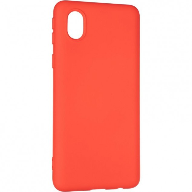 Full Soft Case for Samsung A013 (A01 Core) Red