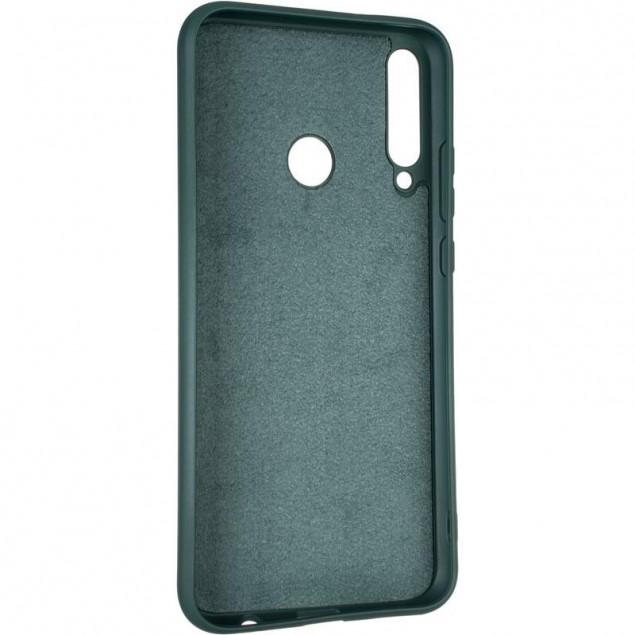 Full Soft Case for Huawei P40 Lite E Dark Green