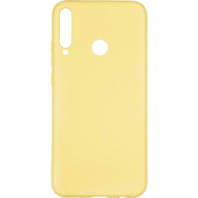 Full Soft Case for Huawei P40 Lite E Yellow