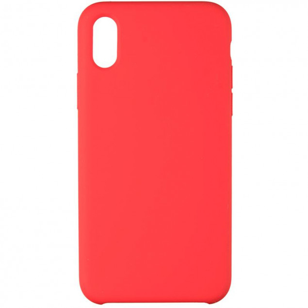Original 99% Soft Matte Case for iPhone XS Max Red
