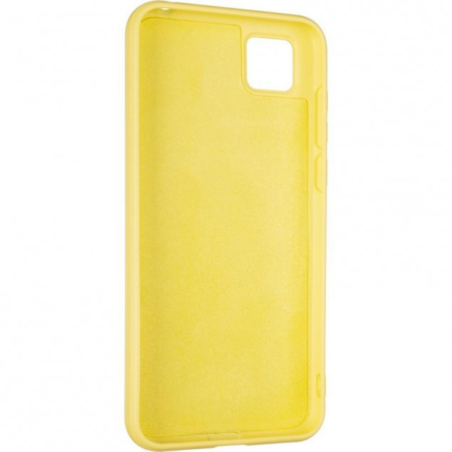 Full Soft Case for Huawei Y5P Yellow