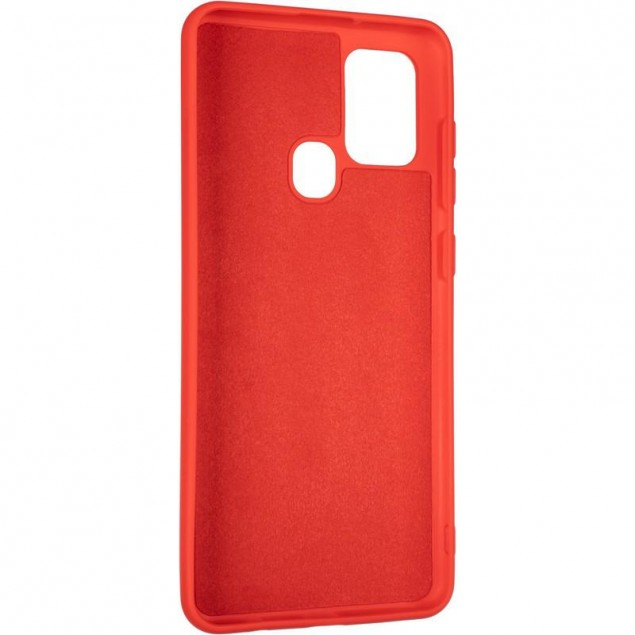 Full Soft Case for Samsung A217 (A21s) Red