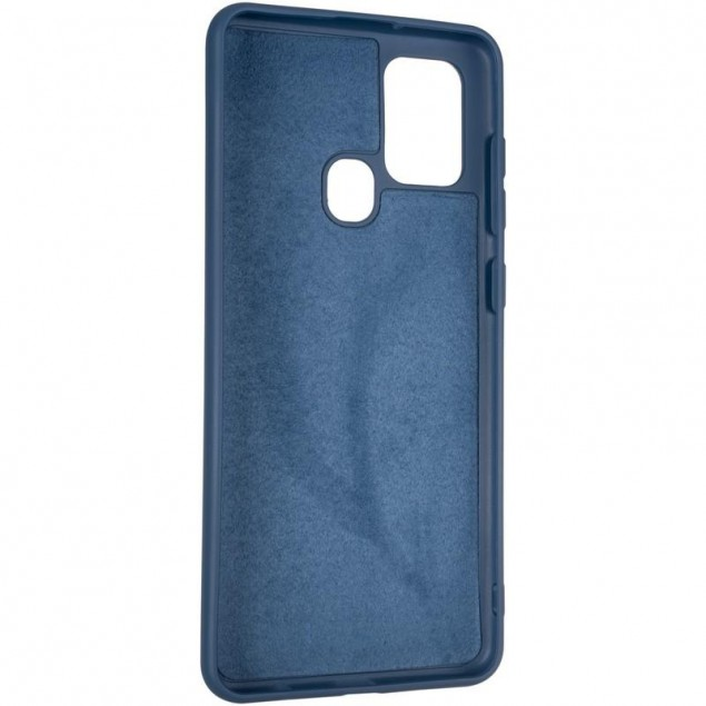 Full Soft Case for Samsung A217 (A21s) Blue