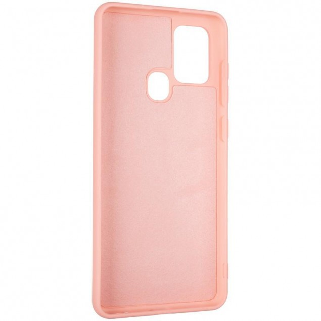 Full Soft Case for Samsung A217 (A21s) Pink
