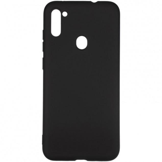 Full Soft Case for Samsung A115 (A11)/M115 (M11) Black