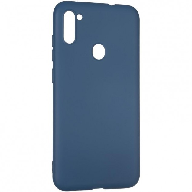 Full Soft Case for Samsung A115 (A11)/M115 (M11) Blue