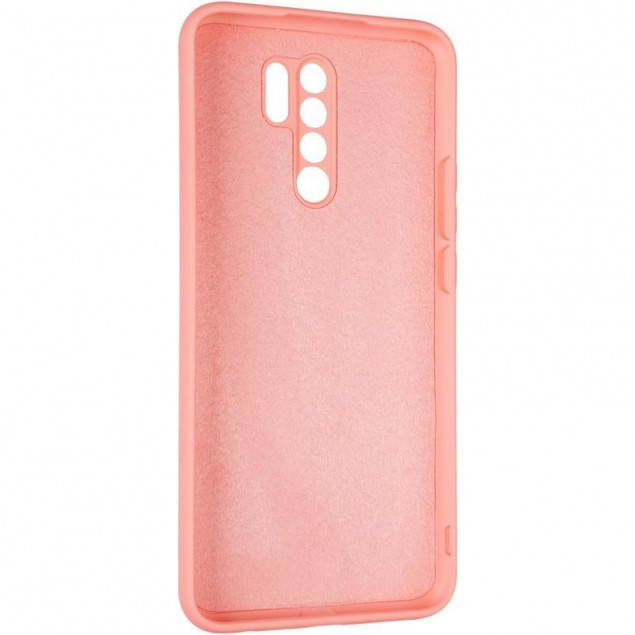 Full Soft Case for Xiaomi Redmi 9 Pink