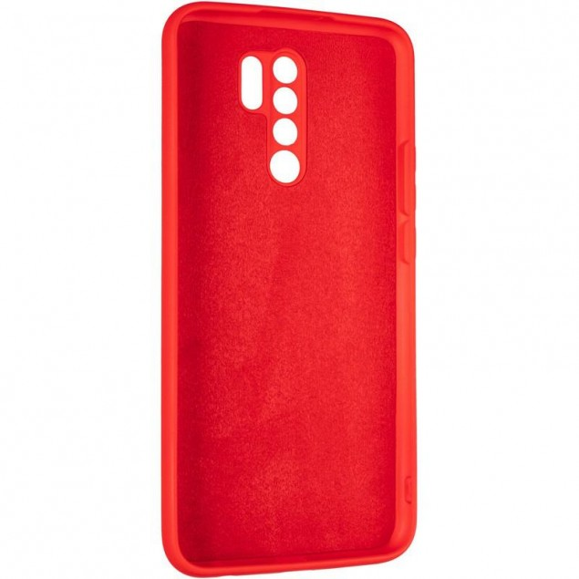 Full Soft Case for Xiaomi Redmi 9 Red