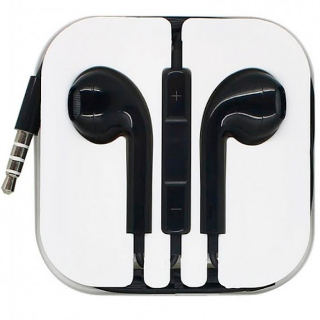 HF Hoco M1 Apple Black + mic + button call answering + volume control