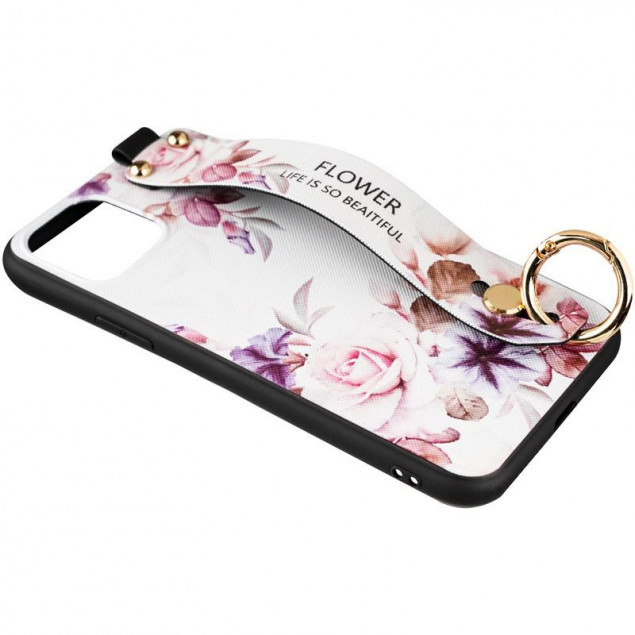 Flower Rope Case for Samsung A315 (A31) White