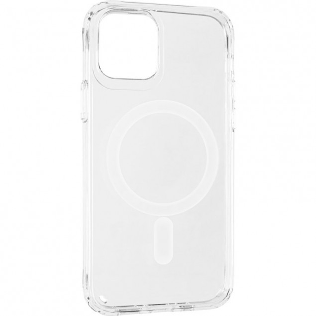 Magnet MagSafe Case for iPhone 12/12 Pro Transparent