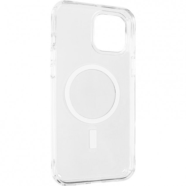 Magnet MagSafe Case for iPhone 12 Pro Max Transparent