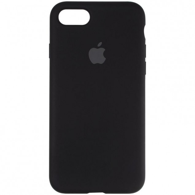 Original Full Soft Case for iPhone 7/8/SE Black