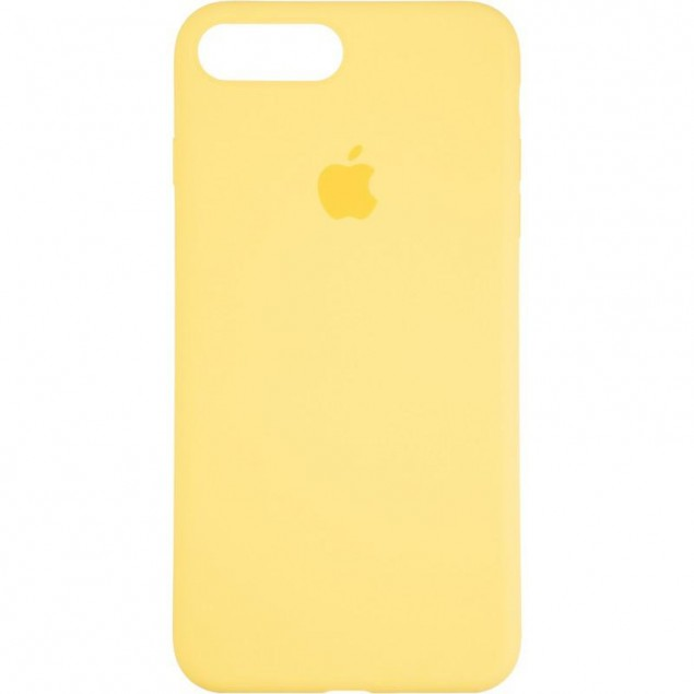 Original Full Soft Case for iPhone 7 Plus/8 Plus Canary Yellow