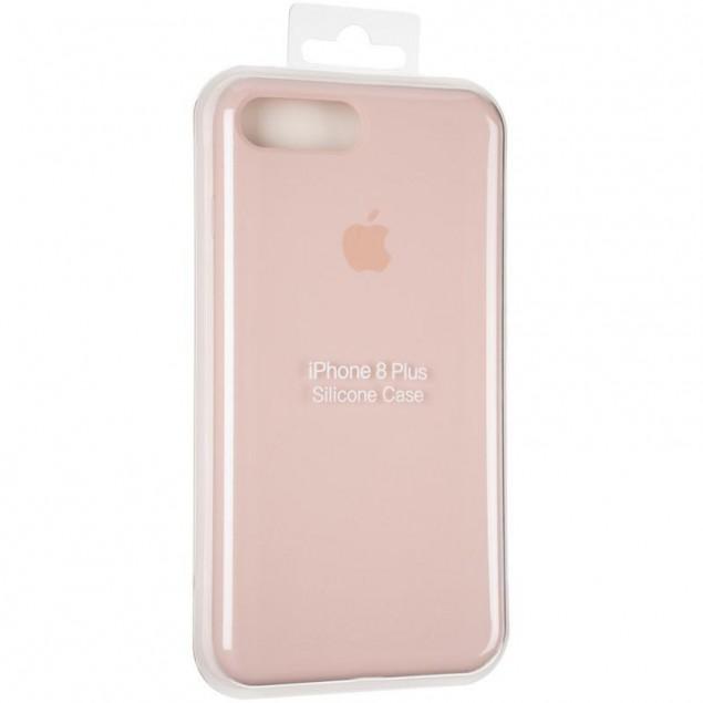 Original Full Soft Case for iPhone 7 Plus/8 Plus Pink Sand