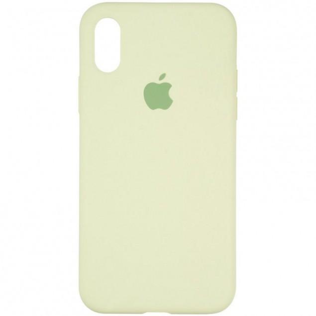 Original Full Soft Case for iPhone X/XS Avocado