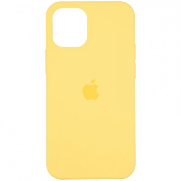 Original Full Soft Case for iPhone 12 Mini Canary Yellow