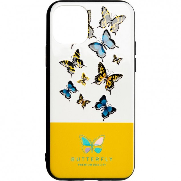 Butterfly Case for Xiaomi Redmi Note 7 Yellow