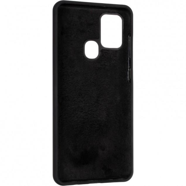 Original 99% Soft Matte Case for Samsung A217 (A21s) Black