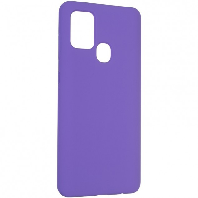 Original 99% Soft Matte Case for Samsung A217 (A21s) Violet
