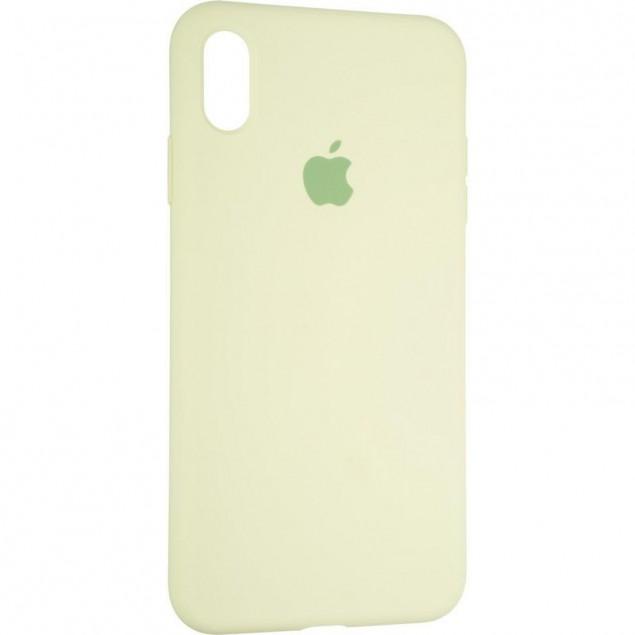 Original Full Soft Case for iPhone XS Max Avocado