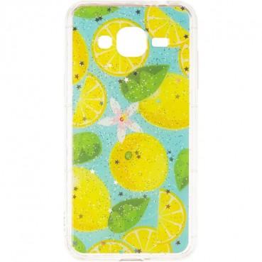 Summer Fruit Case for Samsung A405 (A40) Lemon