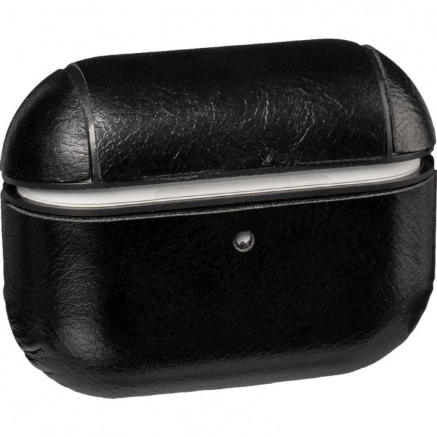 Leather Case AirPods Pro Black