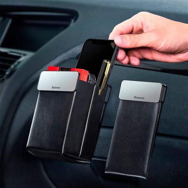 Baseus Magic Car Storage Rack Black (CRSBJ01-0S)(Автомобильный органайзер)