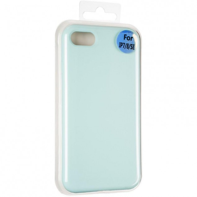 Original Full Soft Case for iPhone 7/8 Ice Sea Blue (without logo)