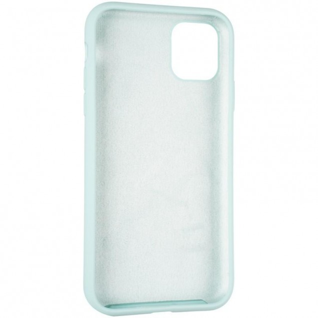 Original Full Soft Case for iPhone 11 Ice Sea Blue (without logo)