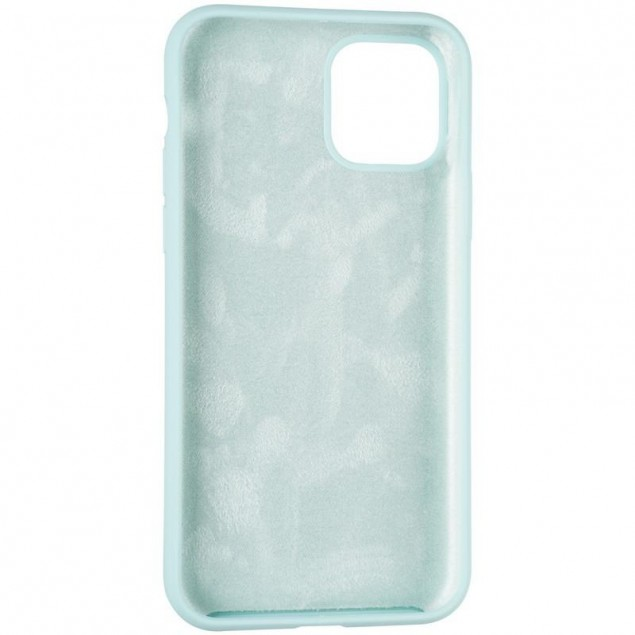 Original Full Soft Case for iPhone 11 Pro Ice Sea Blue (without logo)