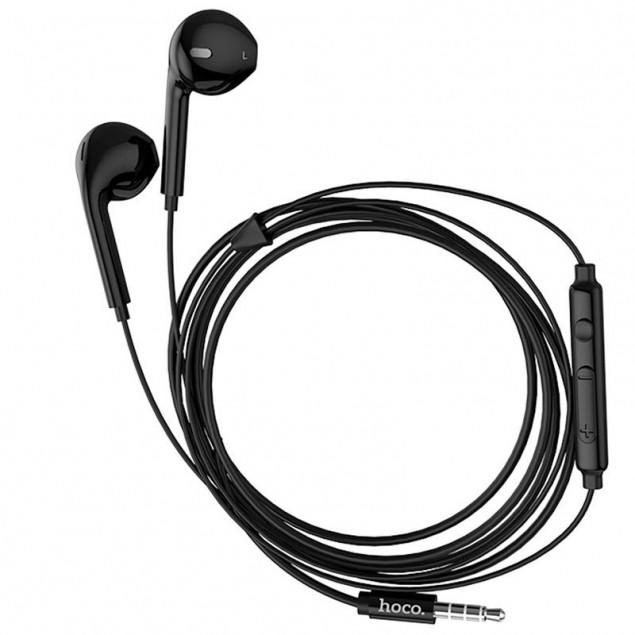 HF Hoco M55 Black + mic + button call answering + volume control