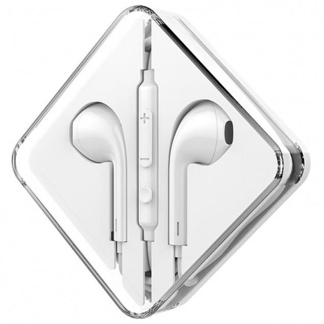HF Hoco M55 White + mic + button call answering + volume control