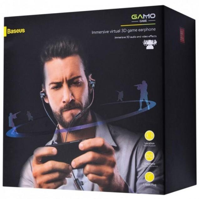 HF MP3 Baseus Immersive Virtual 3D Gaming H08 (NGH08-01) Black