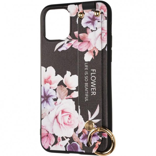Flower Rope Case for iPhone 11 Black