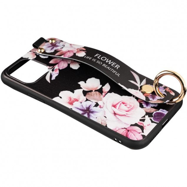 Flower Rope Case for iPhone X/XS Black