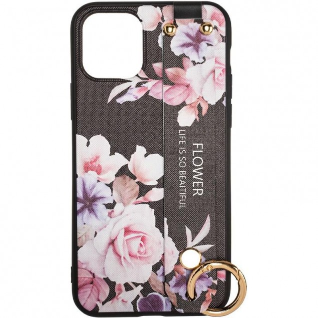 Flower Rope Case for iPhone 11 Pro Max Black