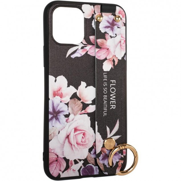 Flower Rope Case for Samsung A315 (A31) Black