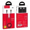 Cable Hoco X45 Surplus PD Type-C to Lightning Black 1m